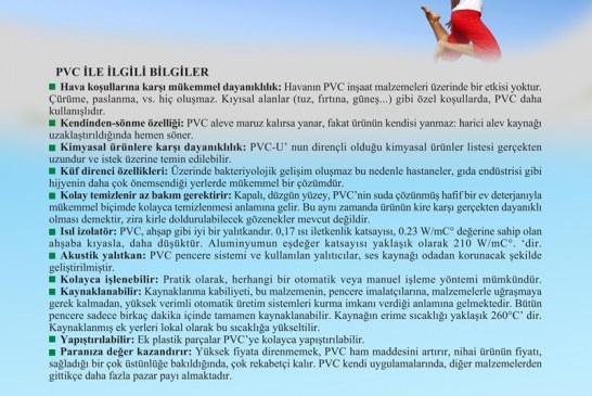 PVC HAKKINDA FAYDALI BİLGİLER